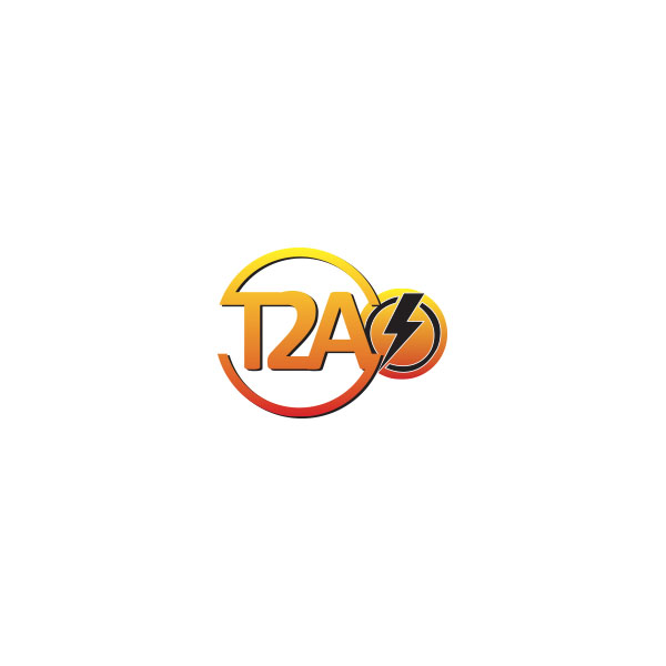 t2a systems logo design