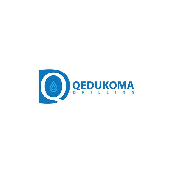 qedukoma drilling logo design