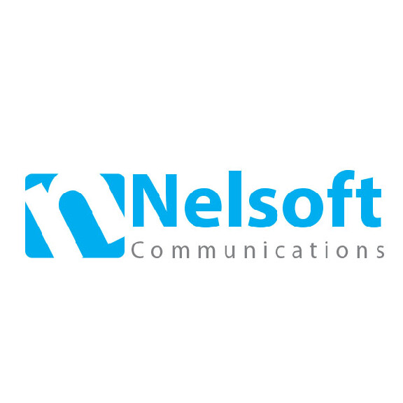 nelsoft logo design