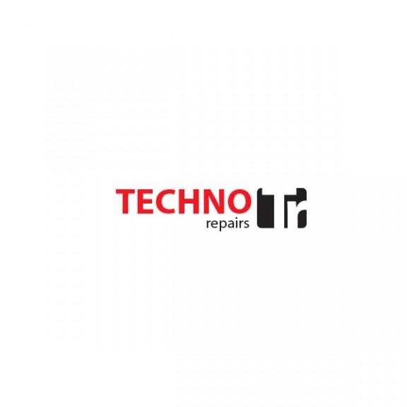 techno repairs logo design